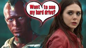 Avengers Stars Talk Scarlet Witch Vision Sex