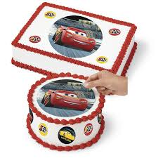 Cars 3 Sugar Sheet