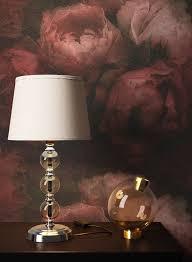 newroom vliestapete rot tapete blumen floral vintage blumentapete rosa schwarz 3d optik für schlafzimmer wohnzimmer küche kaufen