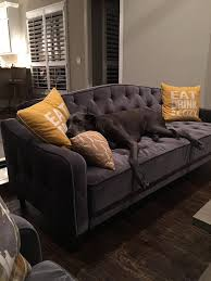 West Elm Rochester Sofa by Our Futon Is Back In Stock For The Home Pinterest Sofa