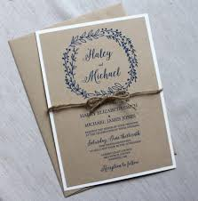 Simple Rustic Wedding Invitations To Inspire You How Make Your Own Invitation Looks Interesting 10