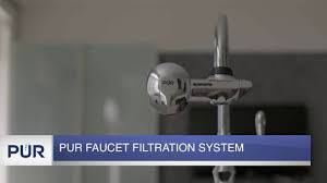 how to change your pur water faucet filtration system youtube