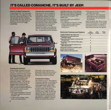 Jeep's Last Load-lugger: 1986 Comanche Brochure | Hemmings Daily Is The Jeep Pickup Truck Making A Comeback Drivgline Trucks Suvs Built For Upstate New York Adirondack Auto Bossier Chrysler Dodge Ram Billion Motors Dealer Sioux Falls Ram Tampa Jim Browne Sale Commander Reviews Research Used Models Motor Trend Used And Preowned Buick Chevrolet Gmc Cars Trucks Wrangler Confirmed Future Rival To The Ford Ranger Marchionne We Will Build Gladiator 4door Coming In 2013 Order Tracking Your Page 351 2018 Cars Lacombe Weidner Ltd