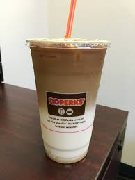 Dunkin Donuts Pumpkin Latte 2017 by Dunkin Donuts Iced Snickerdoodle Macchiato Review Fast Food Geek
