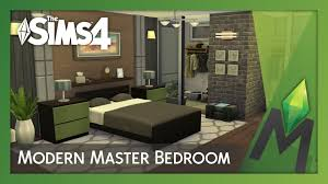 Fascinating Sims 3 Master Bedroom In The 4 Room Building Modern Youtube