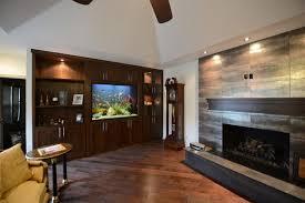 living room master bedroom in wall aquarium klassisch