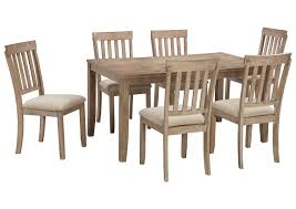 Blystone Two Tone Dining Room Table SetSignature Design By Ashley