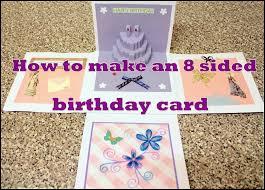 Big birthday card DIY Creative ideas
