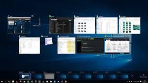 bureau viruel windows 10 gérer les bureaux virtuels
