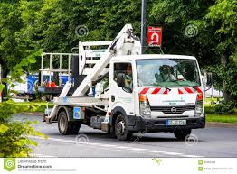 100 Truck Mounted Boom Lift Nissan Cabstar Editorial Stock Photo Image Of Mini Nobody