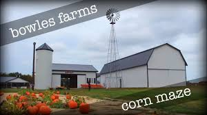 Pumpkin Farms In Southern Maryland by Bowles Farms Corn Maze Southern Maryland Adventure Youtube