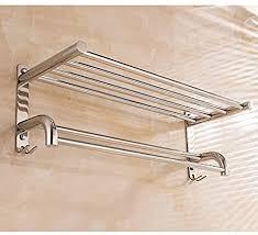 ehtf handtuchhalter bad wand handtuchstange edelstahl badetuchhalter haken edelstahl dicke handtuchhalter mit haken 80cm hoch und niedrig