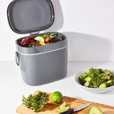 oxo kompostbehälter kunststoff küchenkomposter komposter eimer küche neu 6 6 l