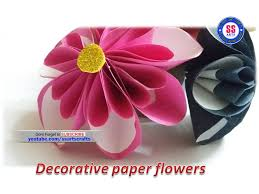 Here Is Paper Craftshow To Make Flowershow Wall