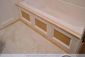 diy tub skirt decorative side panel for a standard apron side