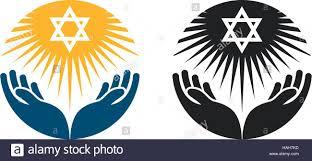 Judaism Vector Logo Star Of David Or Religion Icon