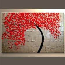 Wall Art Painters Oil Ngs Modern Abstract Canvas Decor On Beauty Large Original Painting