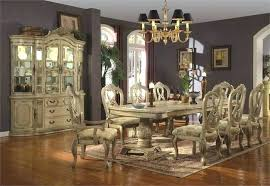 Scenic Dining Room Table And Hutch China Cabinet Set Rustic 2 For