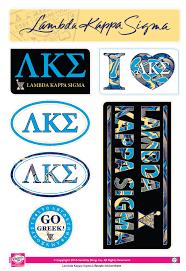 Lambda Kappa Sigma Lifestyle Stickers SororityShop