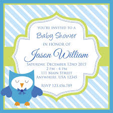 Polka Dots N Pinstripes Baby Shower Invitations