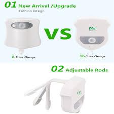 Induction Lamps Vs Led by 2pcs Ywxlight Ip65 Smart Bathroom Toilet Nightlight Led Seat