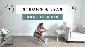 45 min focused leg workout strong lean series day 1