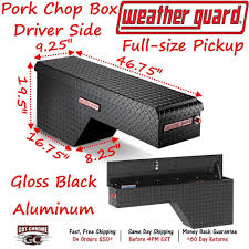 170-5-01 Weather Guard Black Aluminum Pork Chop Box Truck Toolbox ... Lund 495 Cu Ft Alinum Fender Well Truck Tool Box8225 The Balancer Packers Kromer 72281 Walmartcom 72 In Cross Bed Full Size Box Black79307 Uws Boxes Storage Home Depot Crossover Northern Equipment Buyers Products Heavyduty Bpack Diamond Shapely Standard Single Lid Side Mount Pan Pro 48 Chest Alinium Chequer Plate Inspirational Ers S Introduces A Slide Out Line 42x 18x 16 Alinum Pickup Truck Trunk Bed Tool Box Trailer Plasti Diping My New Low Profile Tool Box Youtube