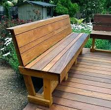Wooden Outside Table Bench And Outdoor Incredible Benches With Regard To Simple Wood