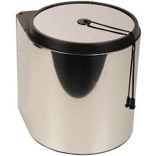 sanitop wingenroth runder mülleimer küche 13 l einbaumülleimer abfallsystem tür automatik montage rechts oder links abfallsammler eimer