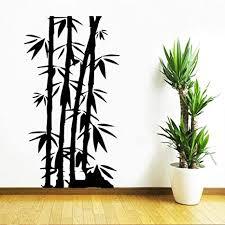 zzlfn3lv bambus familie wohnzimmer wandaufkleber familie