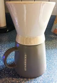 Starbucks Ceramic Pour Over Coffee Set