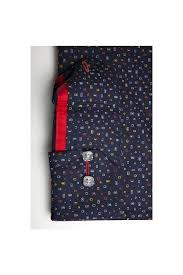 men dress shirt elegent franck michel collection venise navy