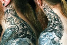 Neck Tattoo Designs