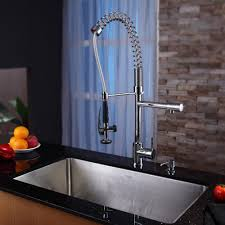 Fluid Faucets Single Lever by Kraus Khu10032kpf1602ksd30ch 32 Inch Undermount Single Bowl