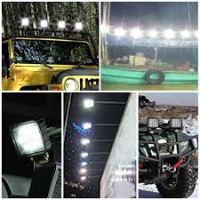 DOT Approved 4 In Pods Cube Square Led Fog Lights Backup Reverse Drl ... 3 Inch Round 12w Led Fog Light Tractor 6000k Spot Xuanba 6 70w Cree Led Work For Atv Truck Boat Amazoncom Chevy Silverado 99 02 Tahoe Suburban 00 05 0405 Ford Ranger Pickup Set Of Lights Everydayautopartscom Driver And Passenger Lamps Replacement For 18w Car Styling Driving Fog Light Lamp Offroad Car Pickup Morimoto Xb Ram Vertical Winnipeg Hid Front Bumper Spot Lamp Nissan Navara D40 01 03 04 06 Toyota Tundra Universal 70mm Fogs Complete Housings From The