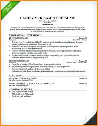 Babysitting Biography Example Resume Samples For Caregiver 6 Babysitter Model Resumed Sample Position Elderly Present Drawing