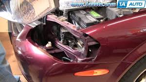 how to install replace headlight nissan maxima 00 01 1aauto