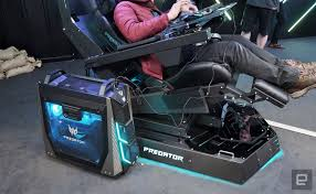 Crazy Acer Predator Thronos Gaming Chair Has A Triple Monitor Setup ... Review Nitro Concepts S300 Gaming Chair Gamecrate Thunder X3 Uc5 Hex Anda Seat Dark Wizard Gaming Chair We Got This Covered Clutch Chairz Throttle The Sports Car Of Supersized Best Office Of 2019 Creative Bloq Anthem Agony Crashing Ps4s Weak Weapons And A World Meh Amazoncom Raidmax Dk709 Drakon Ergonomic Racing Style Crazy Acer Predator Thronos Has Triple Monitor Setup A Closer Look At Acers The God Chairs Handson Noblechairs Epic Series Real Leather Vertagear Triigger 275