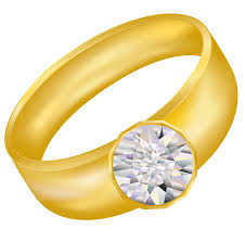 Gold Ring Jewelry Transparent PNG Sticker Wedding