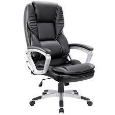 Homall High-Back Office Chair PU Leather Computer Desk Chair ... Ki Impress Ultra High Back Task Chair Flash Fniture Black Leather And Mesh Swivel Buy Cs Alpha 3 Lever At Mighty Ape Nz Office Essentials By Ofm Ess3050 3paddle Ergonomic Amazoncom Boss Products B1002bk In Via Seating Brisbane Highback Executive Ofx Office Arista With Arms Ofpdirect Gray Galaxy Designer Adjustable Height Homall Pu Computer Desk