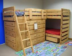 Low Loft Bed With Desk And Dresser by Kids Full Low Loft Bed With Desk Dresser And Bookcase Home In Bunk