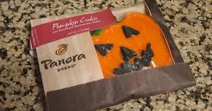 Panera Pumpkin Bagel 2015 by Review Panera Bread Pumpkin Cookie Brand Eating