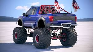 100 Ford Monster Truck F150 Raptor 2019