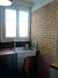 habillage mur cuisine habillage mur extrieur affordable habillage mur cuisine carrelage
