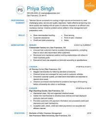 Resume Styles Word - Resume Examples | Resume Template