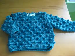 crochet bobble baby sweater charm u0026 whimsy