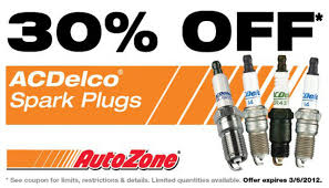 AUTOZONE: New Printable Or Mobile Coupon 30% Off ACDelco Spark Plugs ... Autozone Sale Offers 20 Off Coupon Battery Coupons Autozone Avis Rental Car Discounts Autozone Black Friday Ads Deal Doorbusters 2018 Couponshy Coupons For O3 Restaurant San Francisco Coupon In Store Wcco Ding Out Deals More Money Instant Win Games Win Prizes Cash Prize Car Id Code 10 Retail Roundup Travel Codes Promo Deals On Couponsfavcom 70 Off Amazon Code Aug 2122 January 2019 Choices