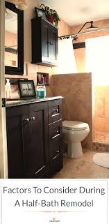 Factors To Consider During A Half Bath Remodel | Home Decor | Half ... 59 Phomenal Powder Room Ideas Half Bath Designs Home Interior Exterior Charming Small Bathroom 4 Ft Design Unique Cversion Gutted X 6 Foot Tiny Fresh Groovy Half Bathroom Ideas Also With A Designs For Small Bathrooms Wascoting And Tiling A Hgtv Pertaing To 41 Cool You Should See In 2019 Verb White Glass Tile Backsplash Cheap 37 Latest Diy Homyfeed Rustic Macyclingcom Warm Or Hgtv With