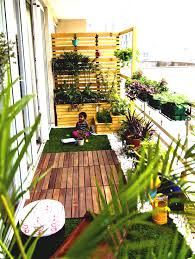 Terrace And Garden Decorations For Small Balcony Yard Landscaping