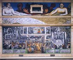 Diego Rivera Rockefeller Mural by Detroit Was Muse To Legendary Artists Diego Rivera And Frida Kahlo